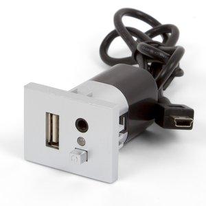 Модуль для подключения USB для Ford 6000CD MP3+USB серебристый