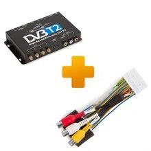 Цифровой тюнер DVB T2 и кабель подключения для мониторов Toyota Citroen и Peugeot X Touch X Nav - Краткое описание