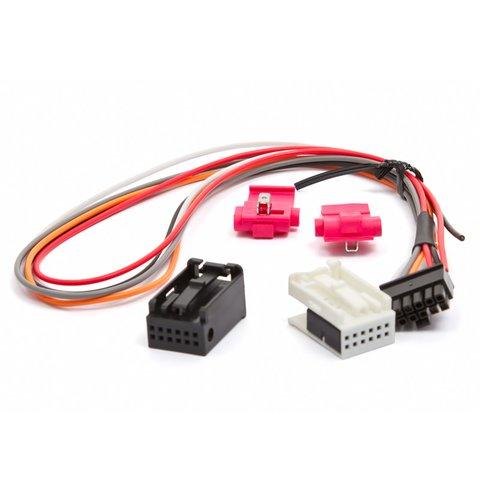 Cable  con el conector Quadlock para  Dension Ice>Link Lite ILC1QAD