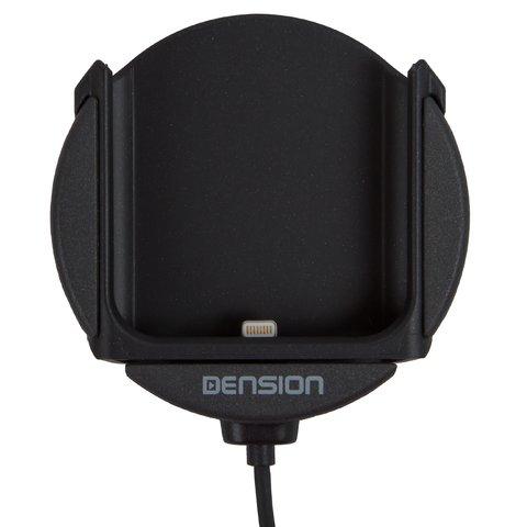 Sujetador para iPhone para adaptadores Dension Gateway 500S / Pro BT (IP5LCRP)