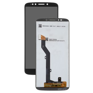 LCD Motorola XT1922 Moto G6 Play, (black, with touchscreen, Copy)