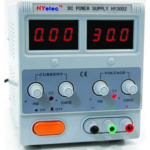 DC Power Supply  HYelec HY3002 (LED display; 0-30V; 0-2A)