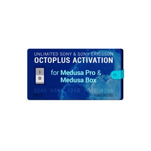 Octoplus Unlimited Sony Ericsson + Sony Activation for Medusa PRO / Medusa Box