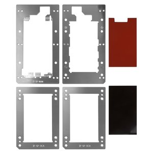 LCD Module Mould for Apple iPhone 6 Plus Cell Phone, (for OCA film gluing,  to glue glass in a frame, set)