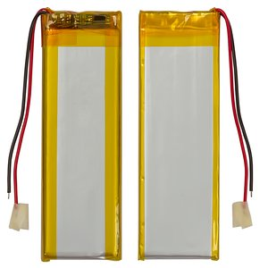 Battery, (70 mm, 19 mm, 3.4 mm, Li-ion, 3.7 V, 500 mAh)