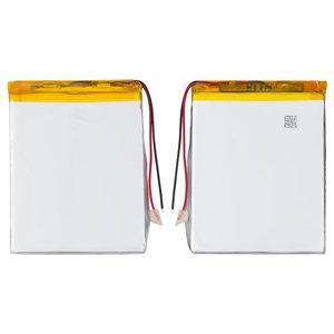 Battery, (82 mm, 63 mm, 4.0 mm, Li-ion, 3.7 V, 1600 mAh)