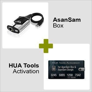 Программатор Asansam Box и Активация Hua Tools