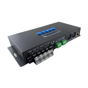Световой Ethernet-SPI/DMX512-контроллер BC-216 (16 канала, 340 пкс, 5-24 В)