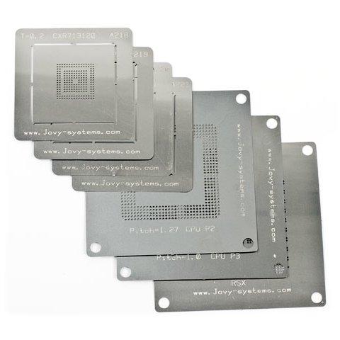 Набор BGA-трафаретов Jovy Systems JV-RMP для PS3