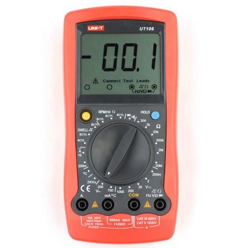 Цифровий автомобільний мультиметр UNI-T UTM 1106 (UT106)