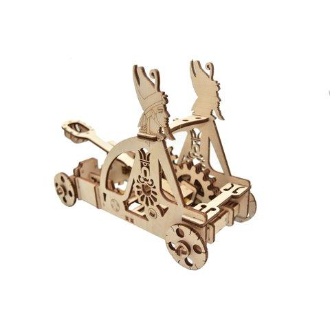 Механический 3D-пазл Wood Trick Катапульта